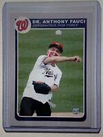 2020 Dr. Anthony Fauci Pro Gem Custom Baseball Card - In hand, unique design!