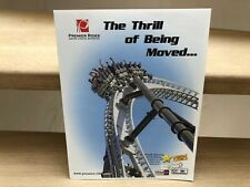 Premier Rides The Thrill of Being Moved... rides and roller coaster brochure