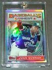 1993 93 JUAN GUZMAN TOPPS FINEST REFRACTOR #56 BLUE JAYS (052)