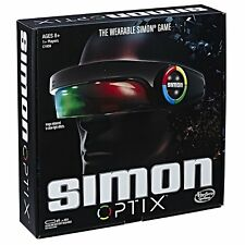 Simon Optix Game Adjustable Headset Hasbro Gaming Play With Friends or Solo