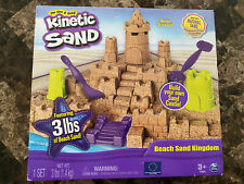 Kinetic Sand Beach Sand Kingdom New In Package 3 lbs of sand