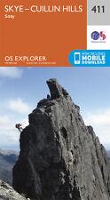 Skye - Cuillin Hills Explorer Map 411 - OS - Ordnance Survey