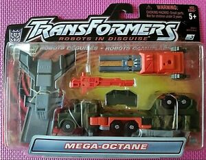 Transformers Robots in Disguise R.I.D. 2001 MEGA-OCTANE Deluxe WORLDWIDE NIB