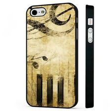 Music Piano Notes Chords BLACK PHONE CASE COVER fits iPHONE