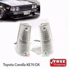 Toyota Corolla E70 KE70 E70 TE71 DX Pair Front Indicator Corner Light Lamp - New