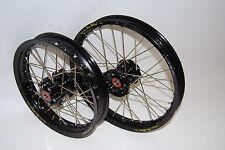 "KTM 50 SX Big Wheel kit with wheels and swingarm 12"" and 14"" wheels"