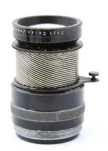antique lens Carl Zeiss Jena, Tele Tessar 1: 6,3  f= 25cm / 250mm, date 1920