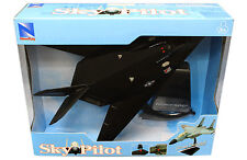 NEW RAY SKY PILOT AEREO F 117 NIGHTHAWK CON SUPPORTO INCLUSO  ART  21313