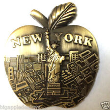 NEW YORK CITY BIG APPLE & Statue of Liberty NY Souvenir Gift Fridge Magnets 7017
