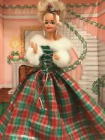 "Barbie Doll Winter's Eve 12"" Special Edition Mattel Blonde Hair 1994 NIB"