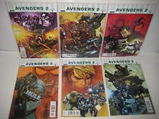 Ultimate Avengers 2nd Series Marvel Comic Book Set Issues 1 2 3 4 5 6