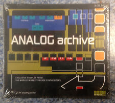 SampleLab Analog Archive Synthesizer Sample Library