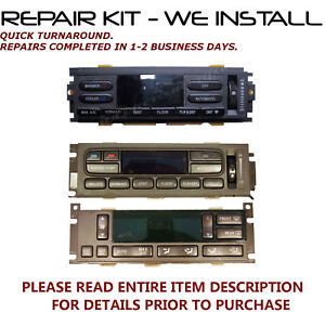REPAIR kit fits 1993-2002 Lincoln Town Car Climate Control A/C EATC >WE INSTALL<
