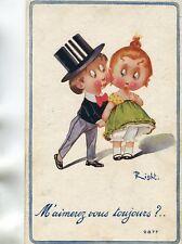 Carte M'aimerez vous toujours ? Humour illustré par RIGHT