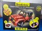 Brookstone Build Your Own Transforming R/C Off Road Vehicle Jeep Tractor Red New