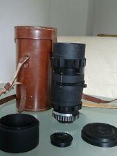 OBJECTIF ENNA TELE-ZOOM 4/85-250 mm MONTURE 42 VIS.