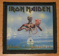 "IRON MAIDEN ""SEVENTH SON OF A SEVENTH SON"" silk screen PATCH"