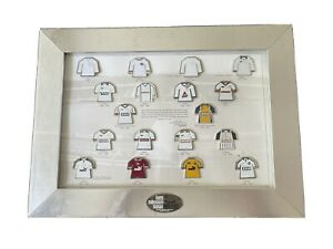 Derby County Shirt Badges Pins Collection 1999/2000