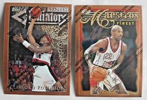 1996-97 Finest Basketball Pick one Complete your Set
