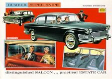 Humber Super Snipe III 1960 Car Jumbo Fridge Magnet