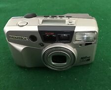 Pentax Iqzoom 130M 35mm Point & Shoot Film Camera