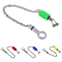 Stainless Steel Carp Fishing Bobbin Swingers Bite Indicator Alarms Chain Tackle