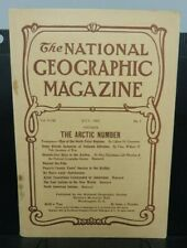 """National Geographic Magazine ~ July 1907 - """"The Arctic Number"""" vintage issue"""