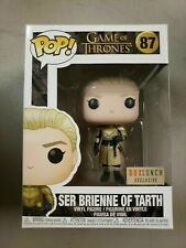 Funko Pop! Game of Thrones Ser Brienne of Tarth #87 Box Lunch Exc + Protector