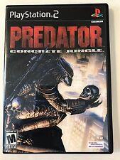 Predator Concrete Jungle - Playstation 2 - Replacement Case - No Game
