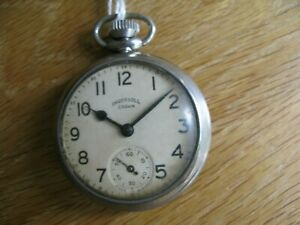 A 1911` Ingrsoll Crown Pocket Watch  No 17
