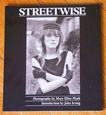 MARY ELLEN MARK - STREETWISE - 1992 1ST EDITION & 1ST PRINTING - FINE COPY