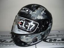 HJC CL-17 Void Motorcycle Helmet Gray M MD Medium Full Face Snell M2015