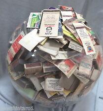 #PP1 #2.  LOT OF MATCHBOX LABELS, MATCHBOOKS etc, ABOUT 3 kilograms