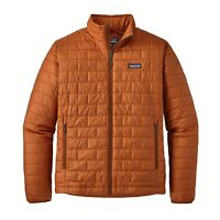 Patagonia Men's Nano Puff® Jacket - Copper Ore - Size S **Low Price**