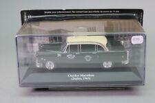 ZT731 IXO voiture 1/43 Taxi du Monde Checker marathon Dallas 1963 noire