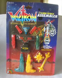 1984 LJN Voltron Lion Force Assembler Robot Action Figure #7345