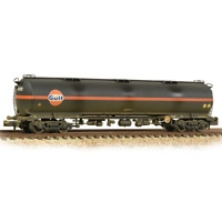Graham Farish 373-562 N Gauge BR 102T TEA Tank Wagon Gulf