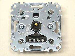 MERTEN MEG5134-0000 Universal Drehdimmer Einsatz für LED Lampen