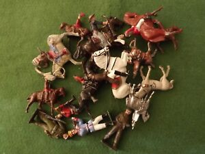 Vintage Soldiers Britains & Others Job Lot for Spares & Repair