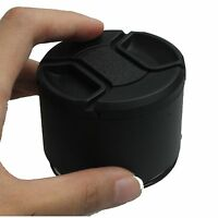 62mm Professional Telephoto Metal Lens Hood 62mm Screw In 62mm Filter Thread+Cap