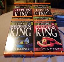 The Green Mile Complete Series Parts 1-6 Audio Books On Cassette By Stephen King