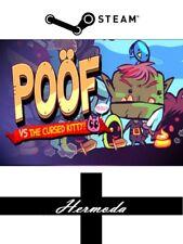 Poöf (Poof) vs les maudits Kitty Clé Steam-pour PC ou MAC (même jour expédition)