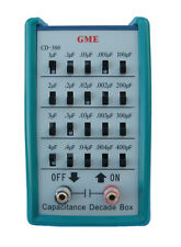 NEW! GME CD-300 Capacitance Decade Box / Capacitor Substitution Box