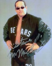 STEVE McMICHAEL MONGO WCW 4 HORSEMEN SIGNED AUTOGRAPH 8X10 PHOTO W/ PROOF