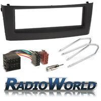 Fiat Grande Punto Stereo CD Radio Fitting Kit Black Fascia Facia Panel Adapter