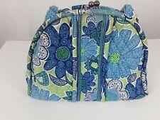 Vera Bradley purse bag floral Kiss lock satchel purse