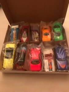 hot wheels revealers seT 10 CARS limited edition l/n in box and plastic