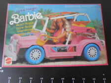 ♥ Vintage Barbie Beach Buggy Car Dune Playa Mattel 8836 Very Rare Aqua Magic  ♥