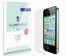 iLLumiShield Matte Matte Screen+Back Protector 3x for Apple iPhone 4S (Sprint)