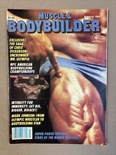 Muscle & Bodybuilder Fitness Magazine / Tom Platz + Lee Haney / 03-83